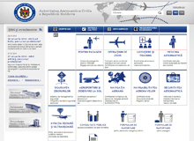 Official website of Civil Aviation Authority Republic of Moldova