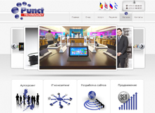Web Page of Punct Web Design Studio