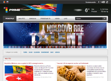 News portal TV channel Prime Moldova